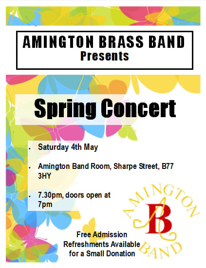 Spring Concert 4th May